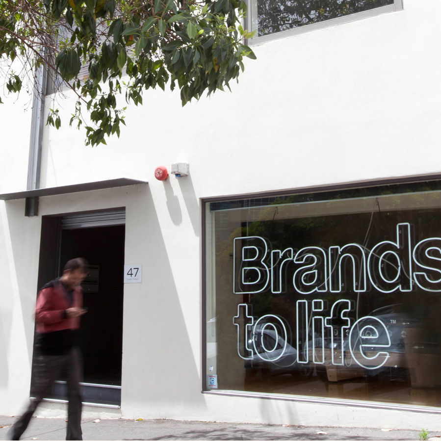 Brands to life Branding agency Contact South Melbourne