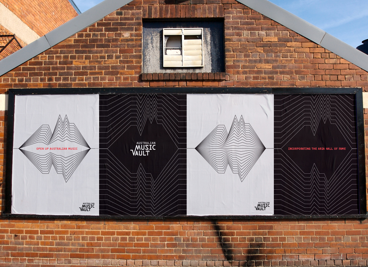 Australian Music Vault - Creative Campaign from agency street posters