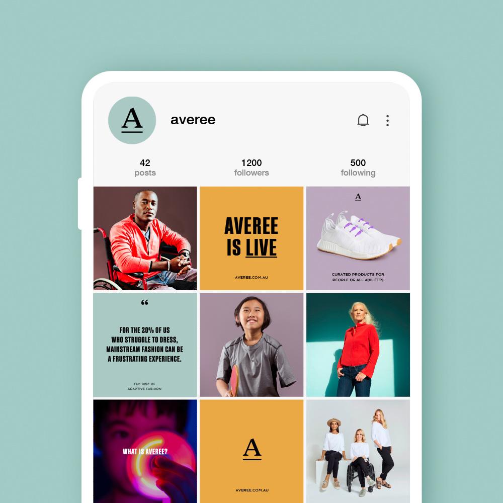 Averee social media Instagram applications