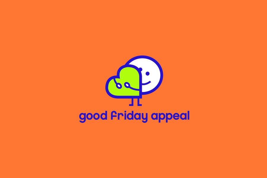 Good Friday appeal brand mark