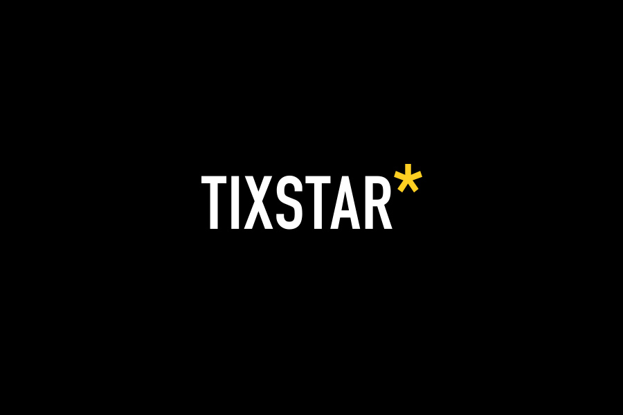 Tixstar brand mark by brands to life