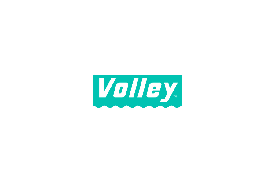 Volley Teal Brand Mark