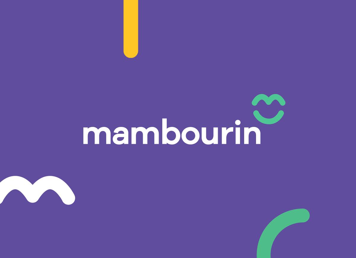 Mambourin - New Brand Mark for 2018 Rebrand