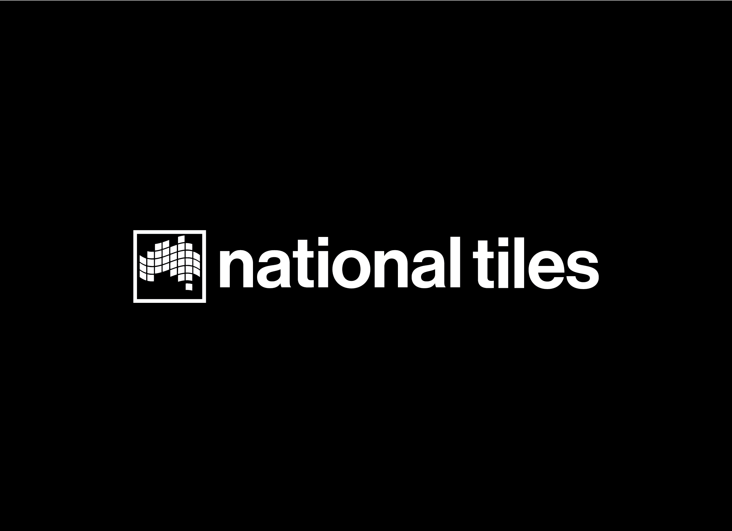 National Tiles - Brand Mark Reversed
