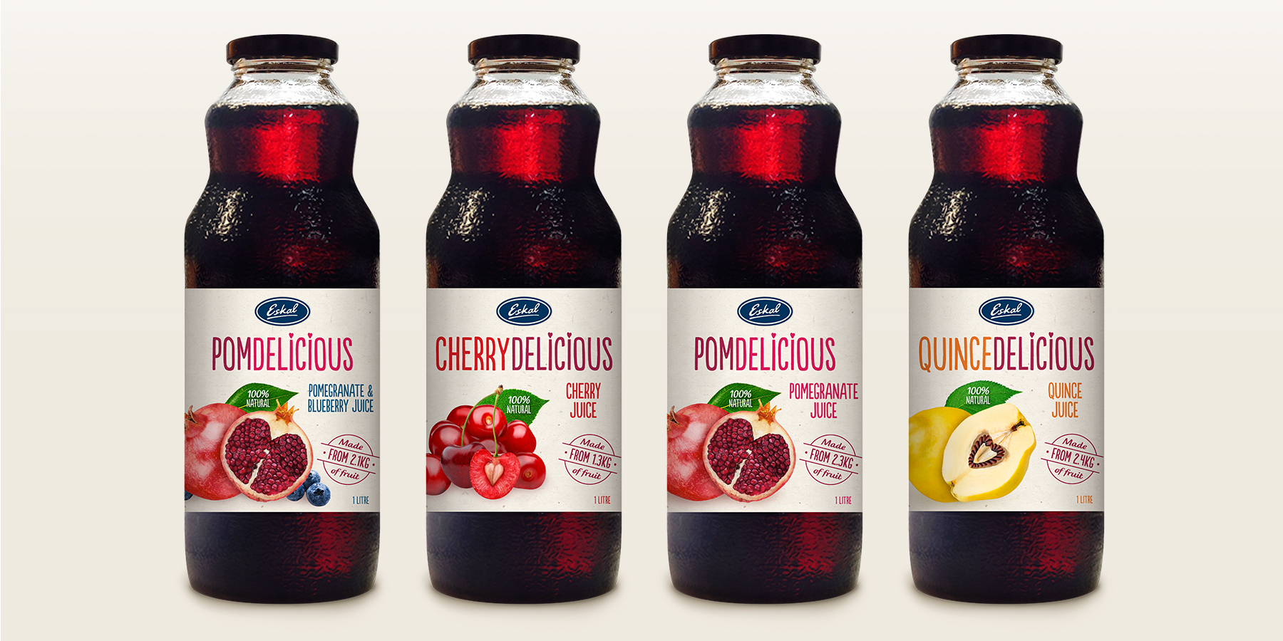 Eskal Brand Mark & Packaging - PomDelicious