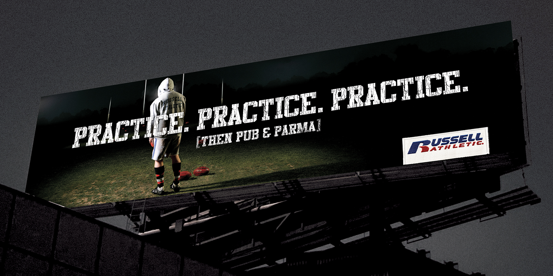 Russell Athletic - Advertising Campaign Billboard
