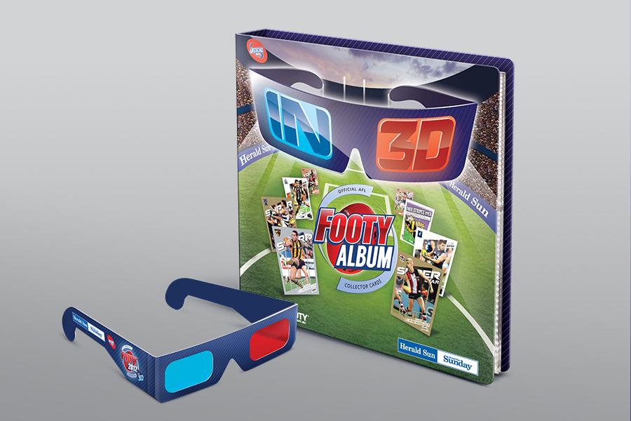 Herald Sun 3D footy campaign