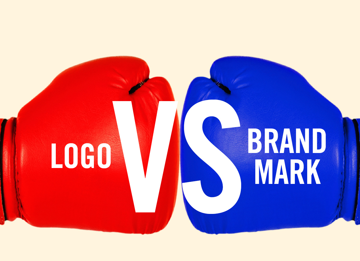 Logo Versus Brand Mark punching image blog