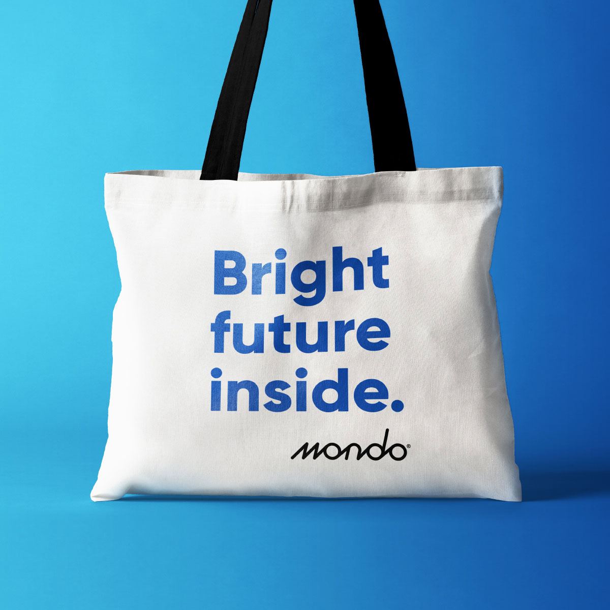 Mondo Tote Bag Design for internal brand launch