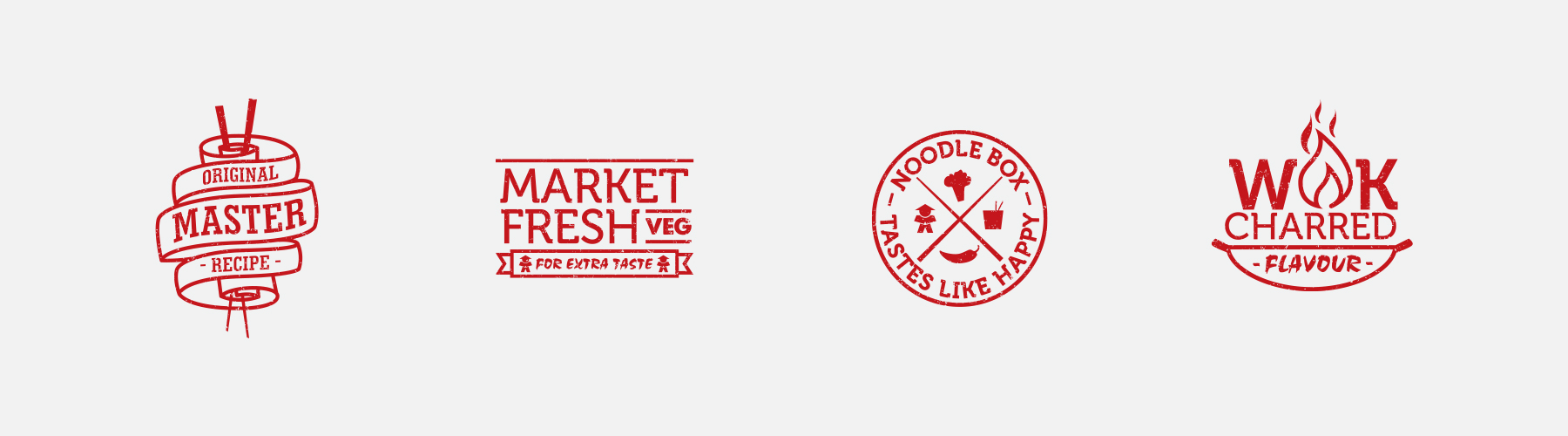 Noodle Box Icons - Brand Marks