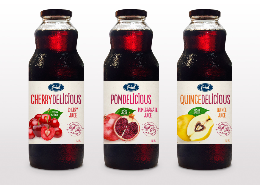 Brand Mark Packaging Design PomDelicious