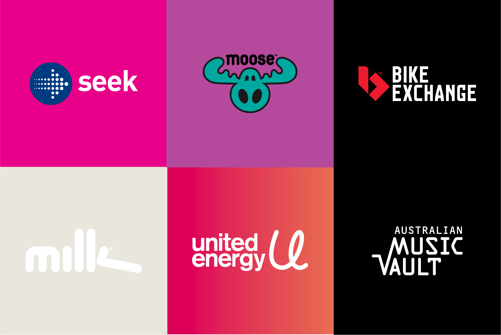 Examples of Brand Marks developed by Brands to life