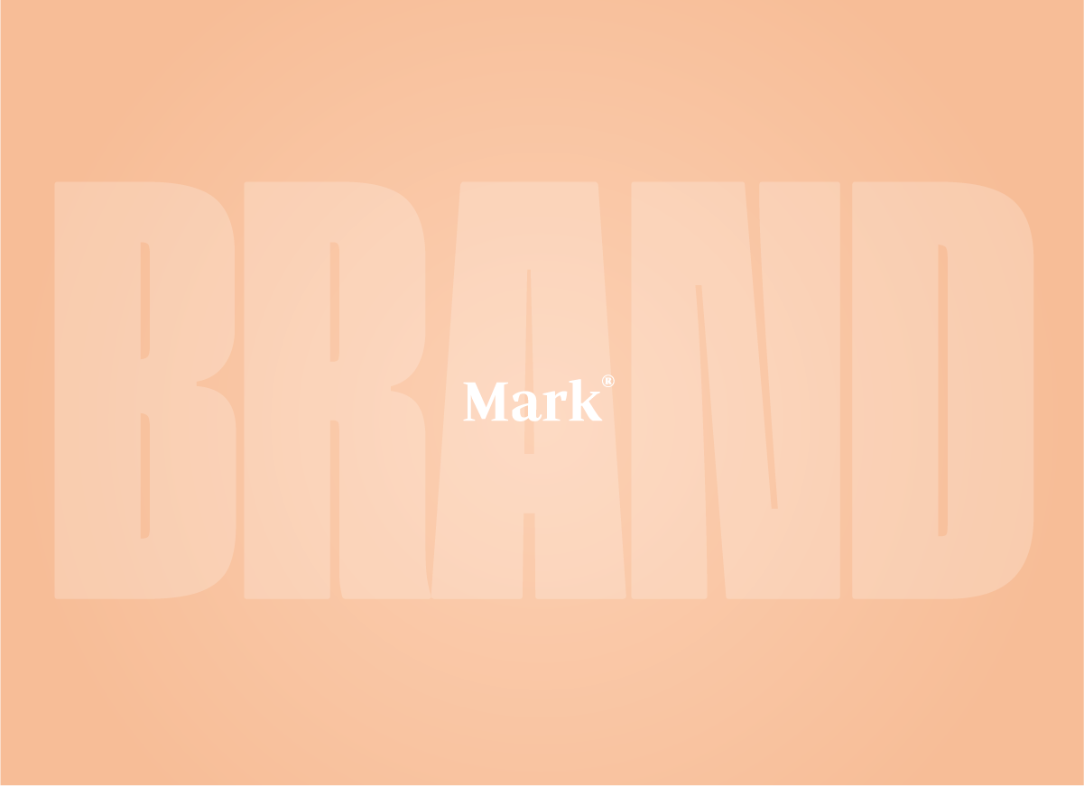 The word Mark laid over the word Brand