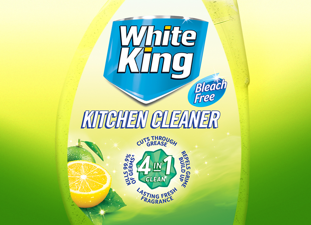 White King - Bleach Free Packaging