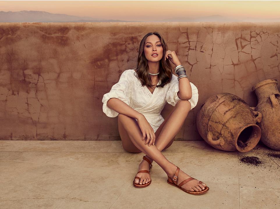 Wittner - Morroco Advertising Campaign - sitting cross legged