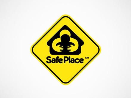 Brand Fail Example - Safe Place Hugs with Hands