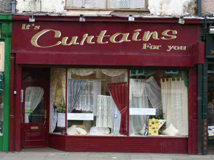 Brand Fail Example - It's Curtains For You