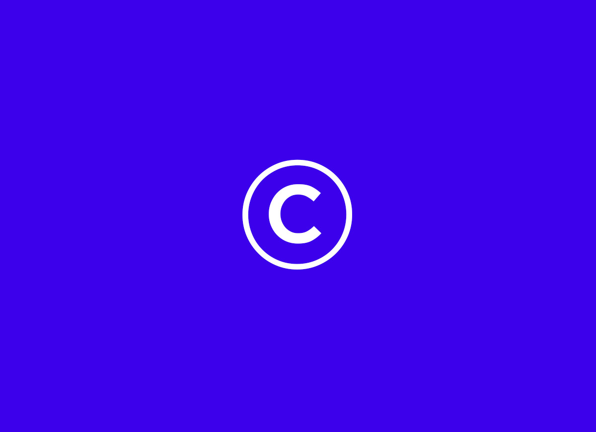 copyright mark for Brands to life glossary