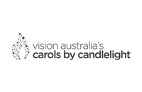 Vision Australia's Carols by Candlelight - Mono Brand Mark