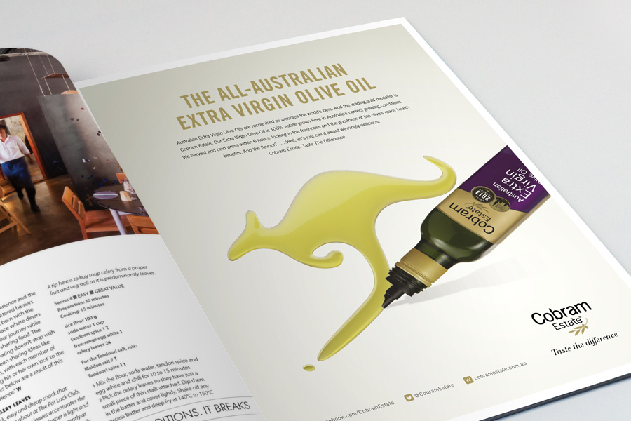 Cobram Australian Magazine Spread by Brands to life