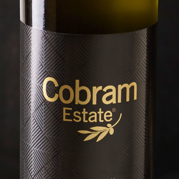 Cobram Estate - premium packaging close up