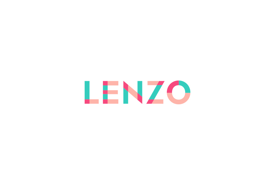 Lenzo Colour Brand Mark by Brands to life
