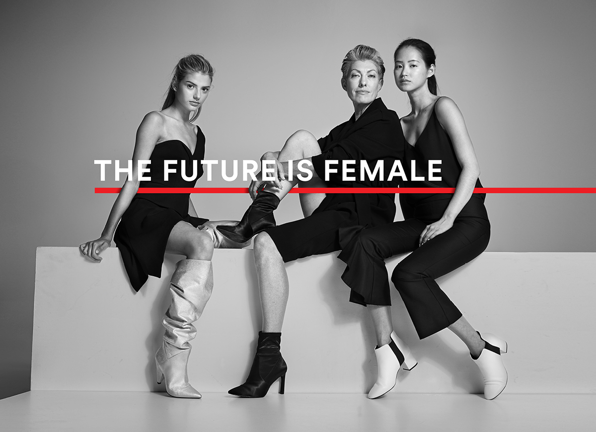 The future is female wittner key brand image women
