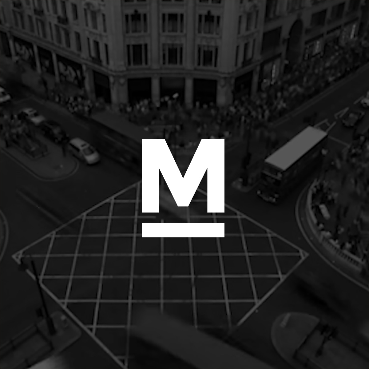 Marketplacer - M only brand mark branding