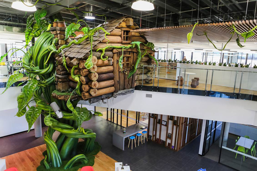 Moose Toys - head office tree house