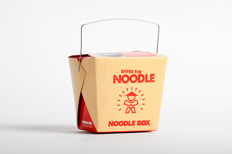 Noodle Box Take Away Packaging Design