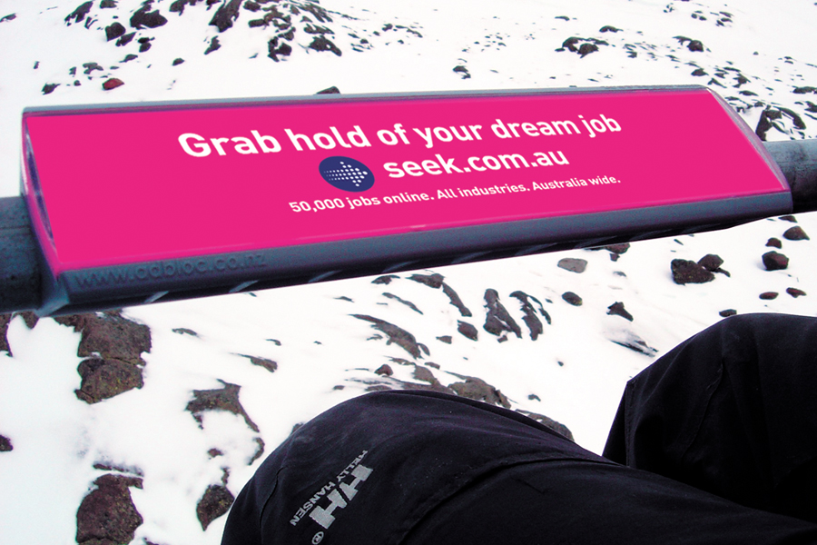 Seek - Creative Advertising Campaign Grab hold of your dream job