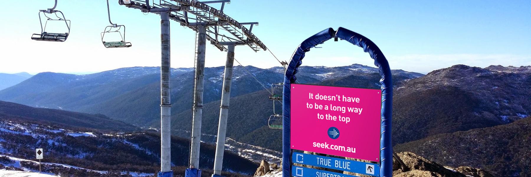 Seek - Creative Ski Advertising Campaign