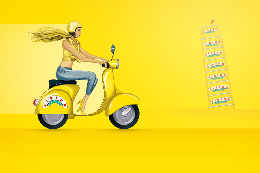 Sirena Branding - Video Thumbnail - Girl on Yellow Scooter